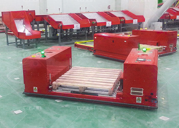 24 Hour Uninterrupted Work Non Standard Heavy Duty AGV Warehouse Automation