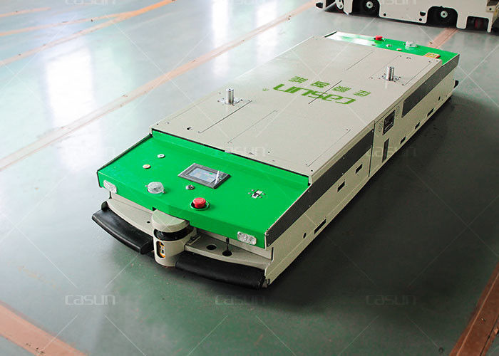 1000kg Loading Omni Directional Tunnel AGV Warehouse Automation With Steering Wheel