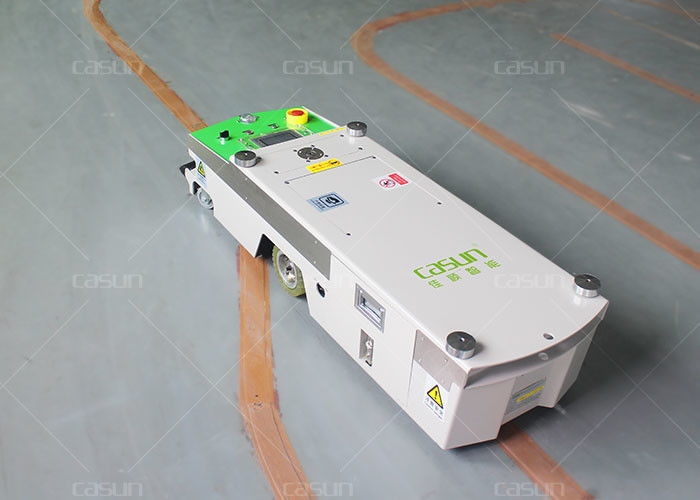 Material Trolley Unidirectional Tunnel AGV Smart Cart With High Load Capacity