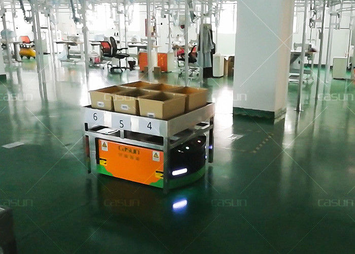 Dc48v Automated Guided Vehicle Robot Trackless